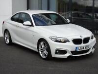 2014 BMW 2 Series 2.0 218d M Sport (s/s) 2dr