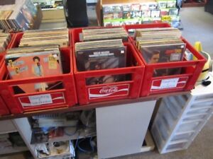 TONS OF COUNTRY RECORDS FOR SALE