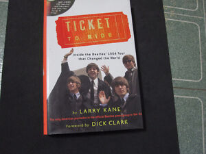 Ticket to Ride : Inside the Beatles' 1964 Tour--Mint  Book