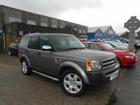 2007 (57) LAND ROVER DISCOVERY 3 2.7TD V6 AUTO GS Leather Alloys Automatic FSH