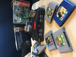 Nintendo 64 console package