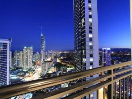 SURFERS PARADISE TWIN SHARE HIGH FLOOR LUXUARY $340 WEEK