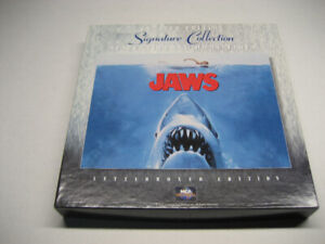 JAWS - Laserdisc Limited Edition Signature Collection Box Set
