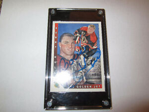 Bobby Hull Autographed Hockey Card Mint