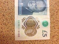 New 5 pound AA