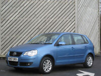 2007/57 VOLKSWAGEN POLO 1.2 S 5DR HATCH - CHEAP TAX -LOW INSURANCE
