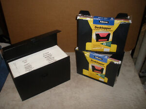 NEW!!!  Expanding Portable File and File Organizers