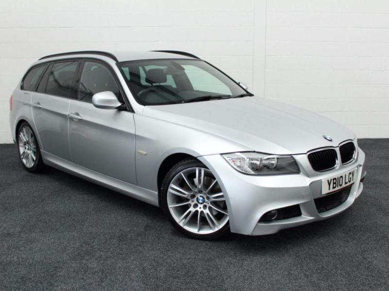 2010 M BMW 3 SERIES 2.0 318D M SPORT BUSINESS EDITION TOURING 5D AUTO 141 BHP DI