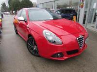 2012 Alfa Romeo Giulietta 1.8 TBi Cloverleaf 5dr Petrol red Manual