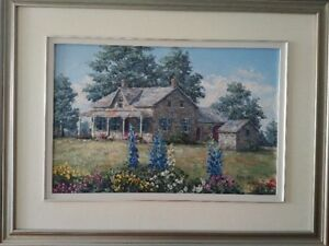 Original Oil Painting by James L. Keirstead – Summer Spafford's
