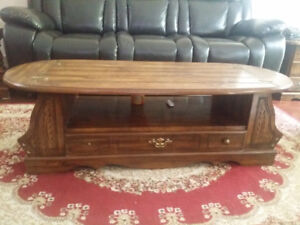 Unique Center/Coffee table set With End/Side Tables