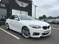 2014 14 BMW 2 SERIES 2.0 220D M SPORT 2D 181 BHP DIESEL