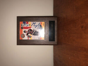 Wayne Gretzky All Star Hockey Plaqued The Great One