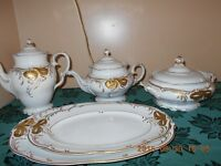 vaiselle antique plats de services ++