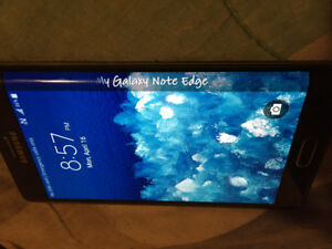 Samsung galaxy S8 edge note , unlocked to any carrier , 32  gbs
