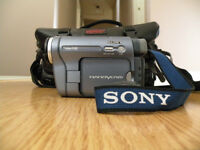 Sony Handycam CCD TRV128, video camcorder.