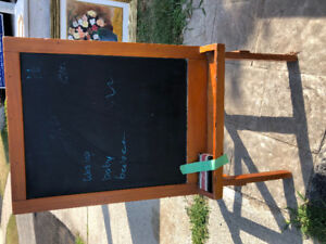 Blackboard for kids from Pottery Barn