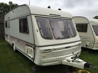 Caravan 4/5/6 berth Swift Challenger 490 SE Lux 1995 fantastic condition full awning available