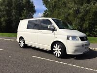 VW Transporter T5, low mileage with drive away awning included