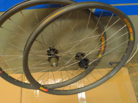 Hope wheelset, Mavic D321 rims, hope hubs