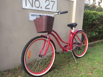 Nearly Brandnew cruiser bike