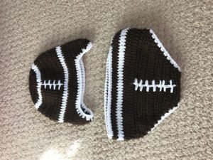 Football outfit for newborn photos