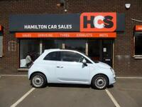 Fiat 500 1.2 LOUNGE - EXCELLENT CONDITION - 1YR MOT, WARRANTY & AA