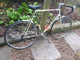 Vintage raleigh Kellogg's pro tour racing bike.