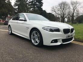 2014 BMW 5 Series 520d [190] M Sport 4dr Step Auto 4 door Saloon