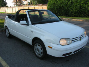 2001 VW CABRIO autom ,no rust,SAFETY ONLY $2250