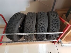 Winter Tires and Rims 195/60/R15
