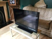 32 inch RED TV no box