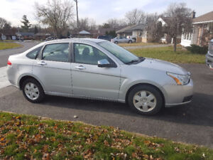 2008 Ford Focus with safety e-test and car proof provided