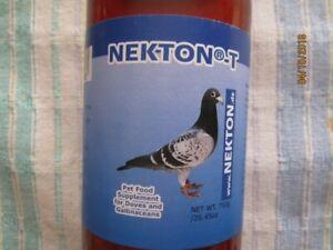 Bird food  supplement Nekton-T for pigeons