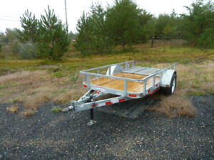 2019 (New) P.J. 5'X10'  galvanized Uility Trailer (SPECIAL)