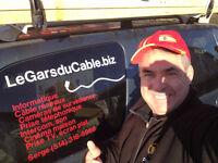 Le Gars du Cable : spécialiste en Câblage réseaux & Caméras