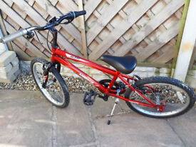 Childs Bicycle - Red and Black