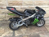 50cc pocket bike