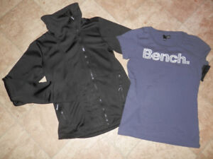 Mostly BENCH: 2 jackets, hoodie, 2Ts, sport pants