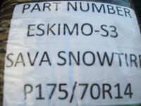 P1757014 SAVA SNOW TIRES BRAND NEW