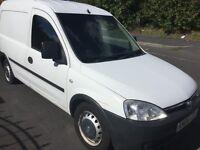 Vauxhall combi van with side loading door