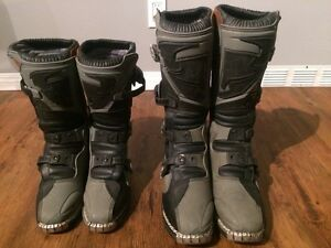 Thor Quadrant MX boots Mens 10 and Women's 7