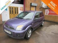 2008 Ford Fusion 1.4 Zetec Climate Manual Hatchback in Blue