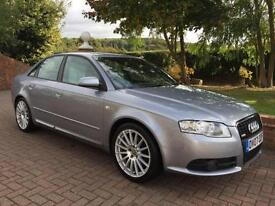 AUDI A4 2.0 TDi S-LINE [170] SPECIAL EITION 4DR 2007 07