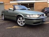 2000 SAAB 9-3 2.0 SE TURBO ECO 2D 154 BHP CONVERTIBLE FULL HEATED LEATHER