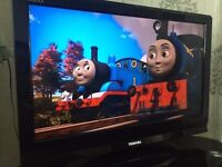 32 Inch LCD Toshiba TV with Freeview , £Xhdmi and 1xusb