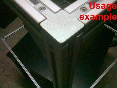 Aluminum T-slot Extruded Profile 20x20-6mm Box Frame Size 1040x1040x1040mm