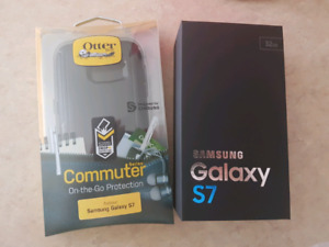 BNIB Galaxy S7 with Otterbox