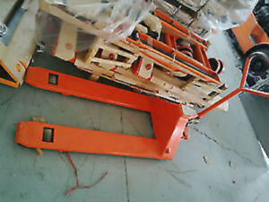 USED PUMP TRUCK /PALLET JACK / DOCK PLATES 416 301 6462