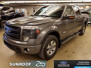 2014 Ford F-150 FX4   - Sunroof - Navigation - Leather Seats - $